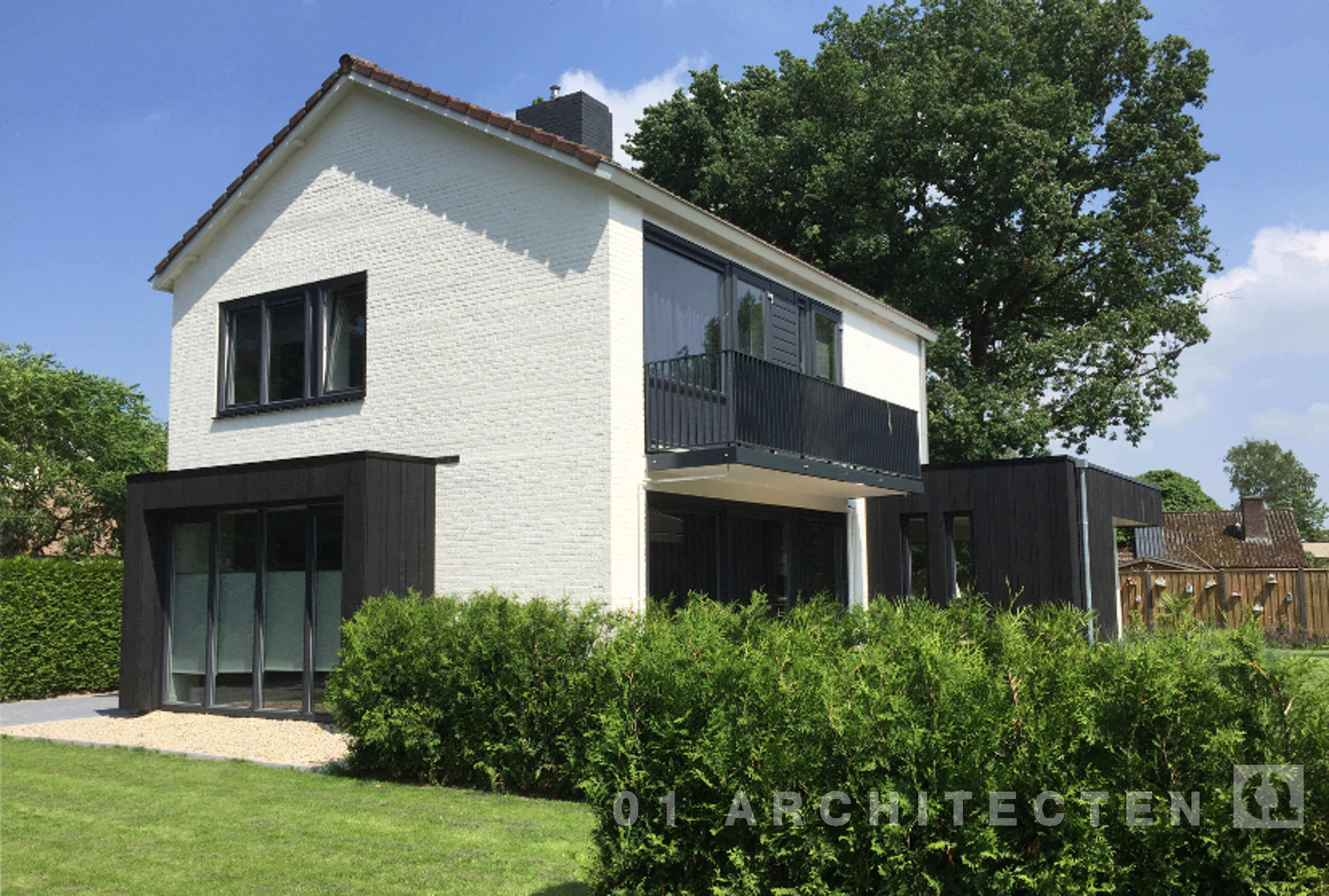 Foto 39 s woningen en villa 39 s verbouw 01 architecten - Foto gevel moderne villa ...