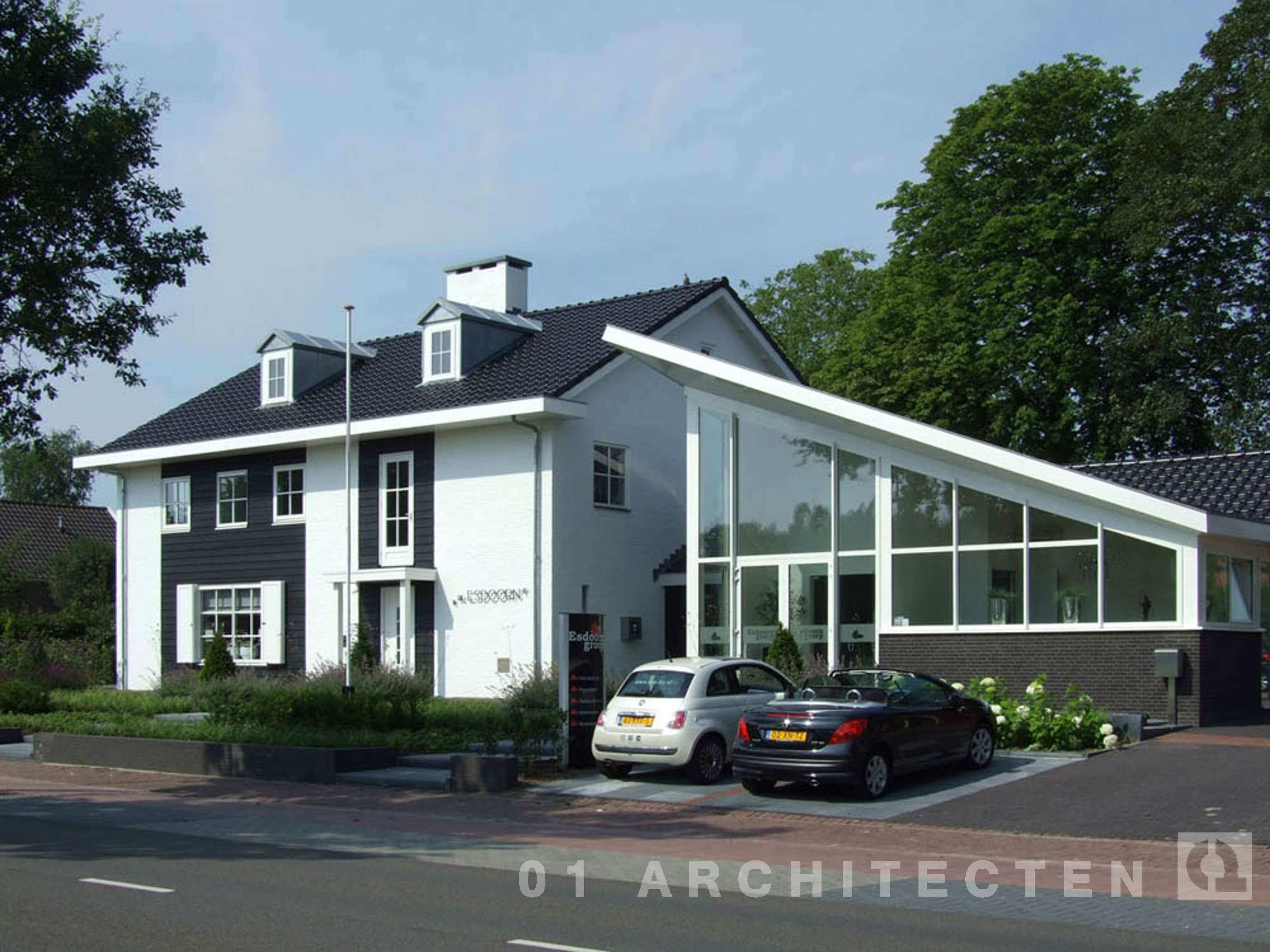 Architect Kleine Woning : Verbouw van woningen en villas door 01 architecten
