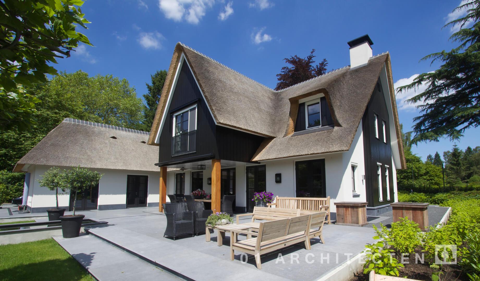 Nieuwbouw woningen en villa 39 s door 01 architecten for Nieuwe woning bouwen