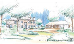 Klassiek landhuis landgoed Hellendoorn