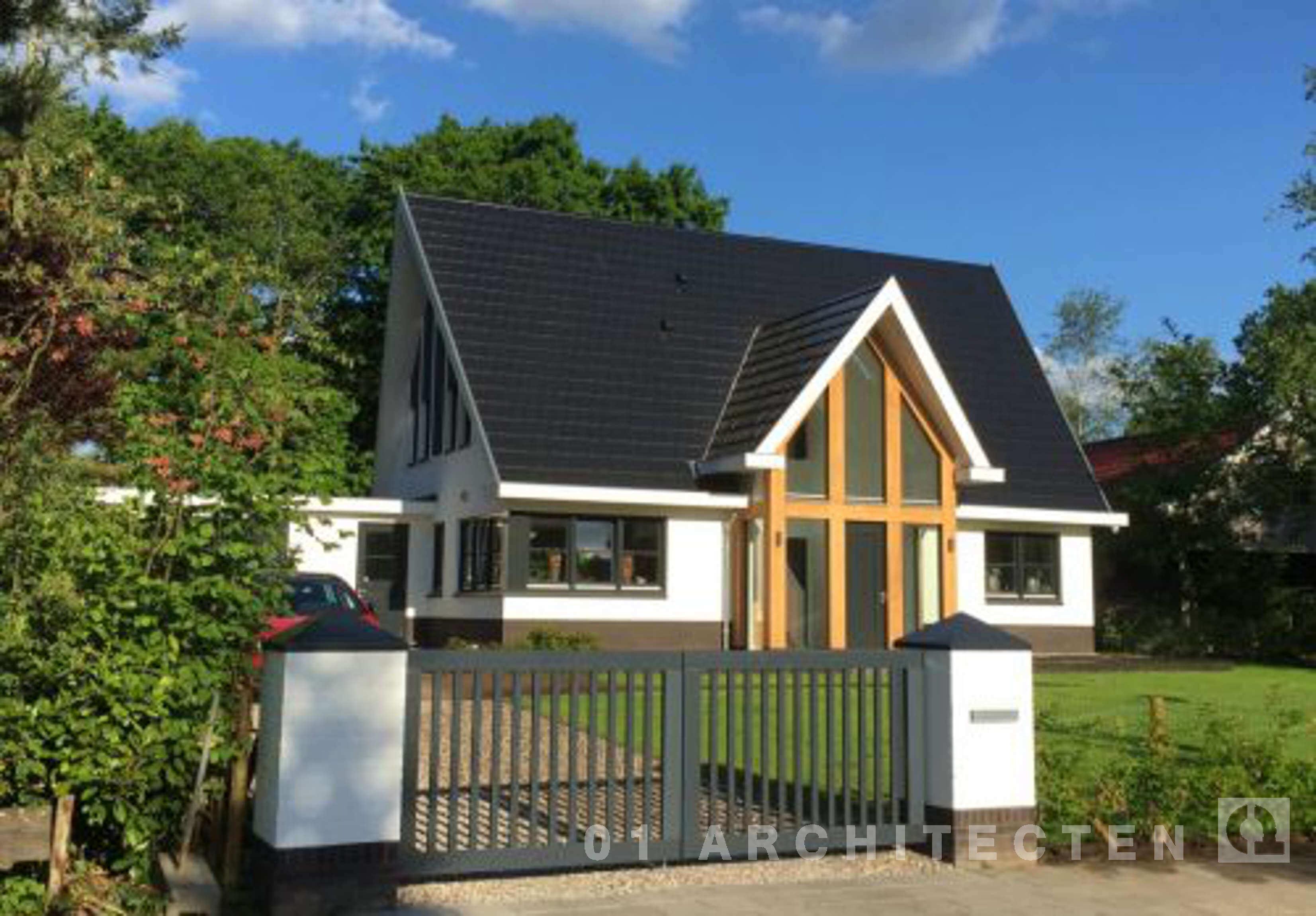 Nieuwbouw woningen en villa 39 s door 01 architecten for Woningen moderne villa