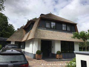 architectenbureau witte villa Bloemendaal