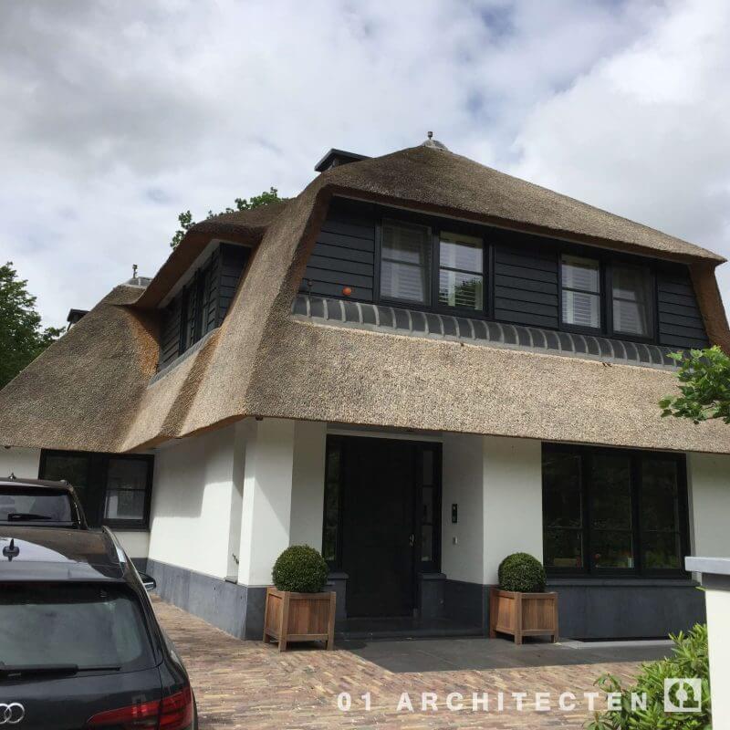 architectenbureau witte villa Bennebroek Bloemendaal