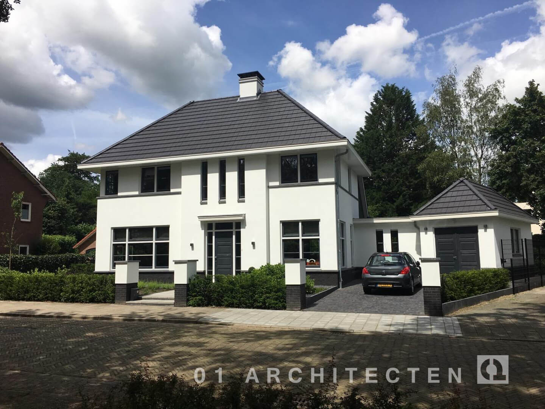 Nieuwbouw woningen en villa 39 s door 01 architecten for Moderne stijl gevel
