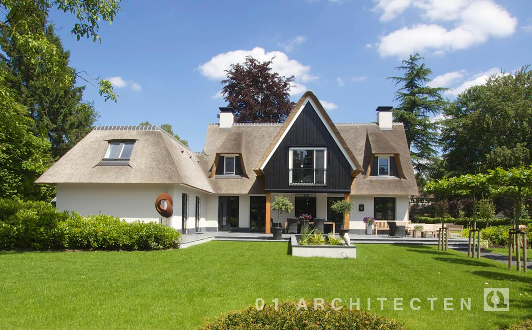 Nieuwbouw woningen en villa 39 s door 01 architecten - Ontwerp buitenkant ontwerp ...