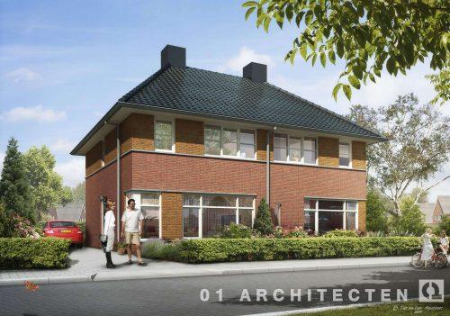 Twee onder één kap te Nijverdal 01 Architecten zakelijk