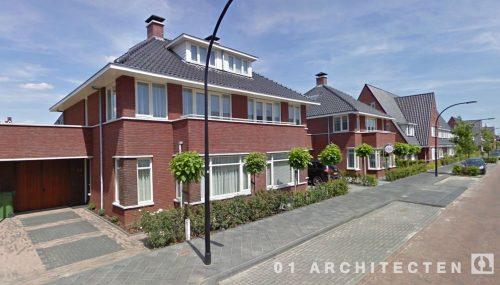 Vrijstaand seriematige woningbouw te West Tilburg 01 Architecten zakelijk