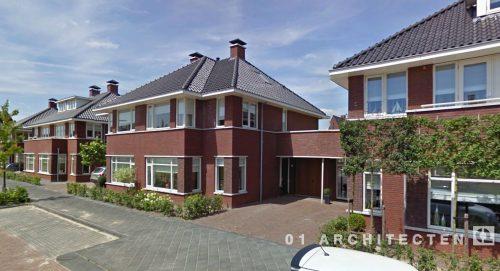Seriematige woningbouw jaren 30 te West Tilburg 01 Architecten zakelijk