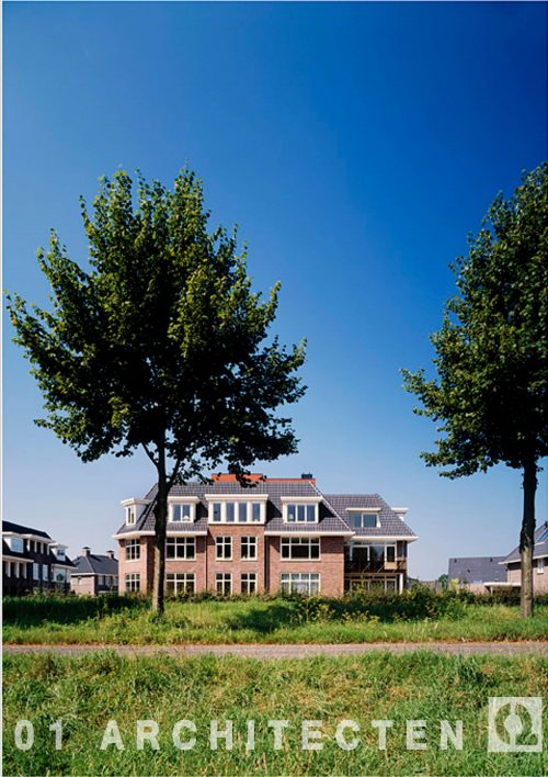 Statige appartementen te Eefde Interpolis Vastgoed BV en 01 Architecten zakelijk