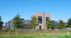 Bedrijfspand te Almelo in opdracht van Brunsman Beheer 01 Architecten zakelijk