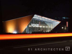 Nieuwbouw autobedrijf Vogel te Nijverdal 01 Architecten zakelijk