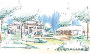 Ontwikkeling van landgoed te Overijssel 01 Architecten zakelijk
