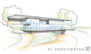 Ontwikkeling van modern landhuis te Overijssel 01 Architecten zakelijk