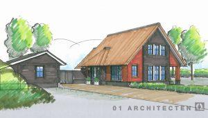 Rood voor Rood woning te Almen 01 Architecten zakelijk