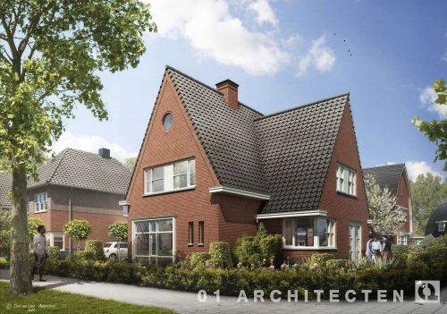 Vrijstaande woning met schildak te Nijverdal 01 Architecten zakelijk