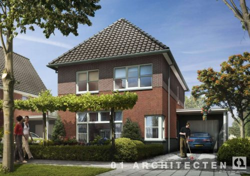 Vrijstaande woning te Nijverdal 01 Architecten zakelijk