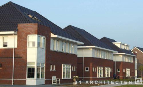 Grondgebonden woningen te Rijssen 01 Architecten zakelijk