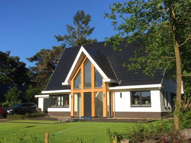 Frisse moderne nieuwbouw villa te nijverdal 01 architecten - Foto gevel moderne villa ...