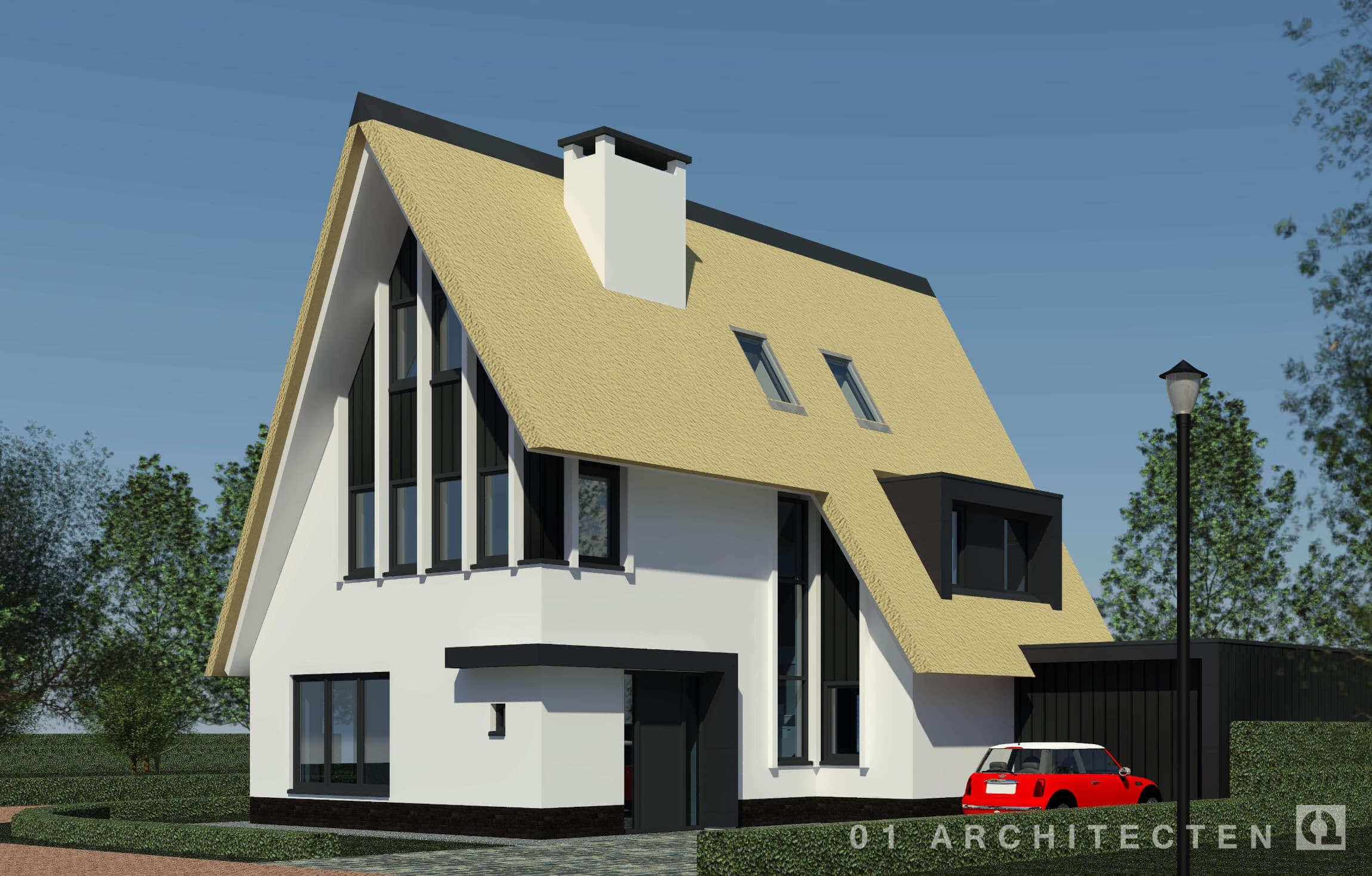 Architect verbouw woningen en villa 39 s archieven 01 for Architecten moderne stijl
