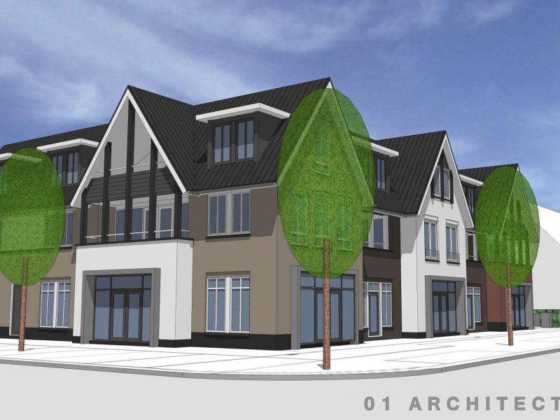 Luxe appartementengebouw in diepenveen 01 architecten - Appartement luxe en californie horst architects ...