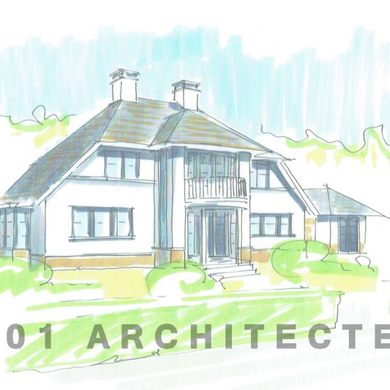 nieuwbouw Frank Lloyd Wright_villa_01Architecten