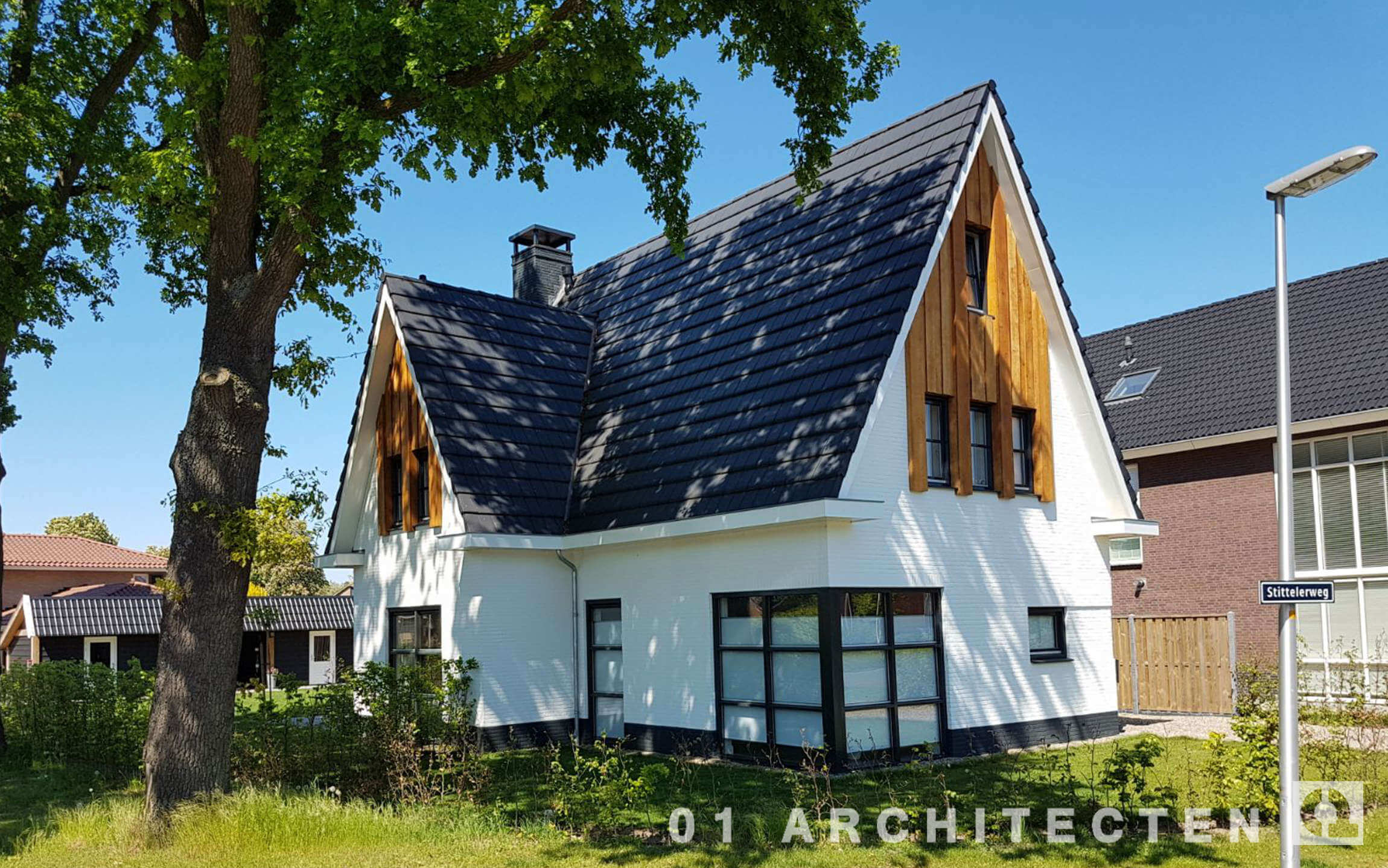 Nieuwbouw woningen en villa 39 s archieven 01 architecten for Nieuwbouw vrijstaande woning