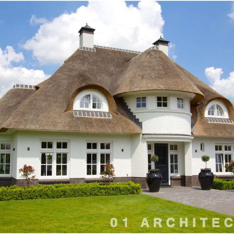 luxe klassieke villa met ronde dakkapellen te Bathmen 01Architecten Nijverdal