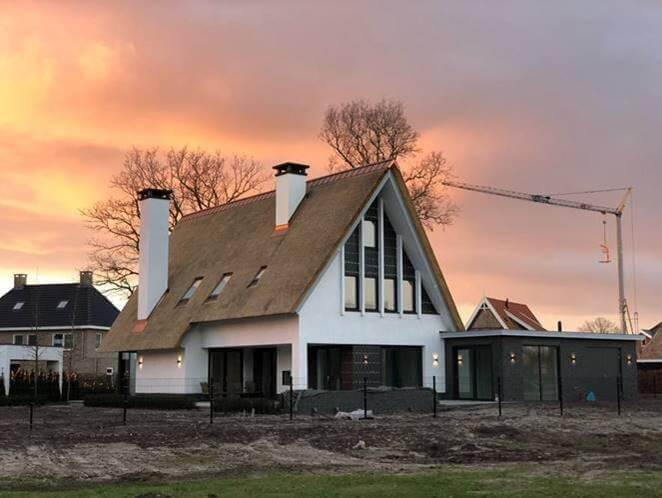 Moderne nieuwbouw villa Dalmeden Stromen