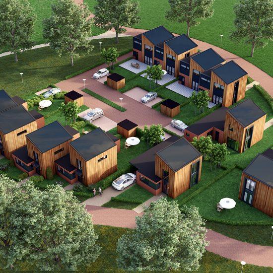 duurzame nieuwbouw woningen Diever 01Architecten