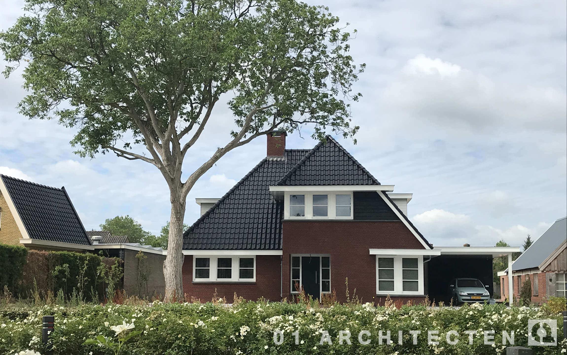 Nieuwbouw_jaren 30 dakpannen