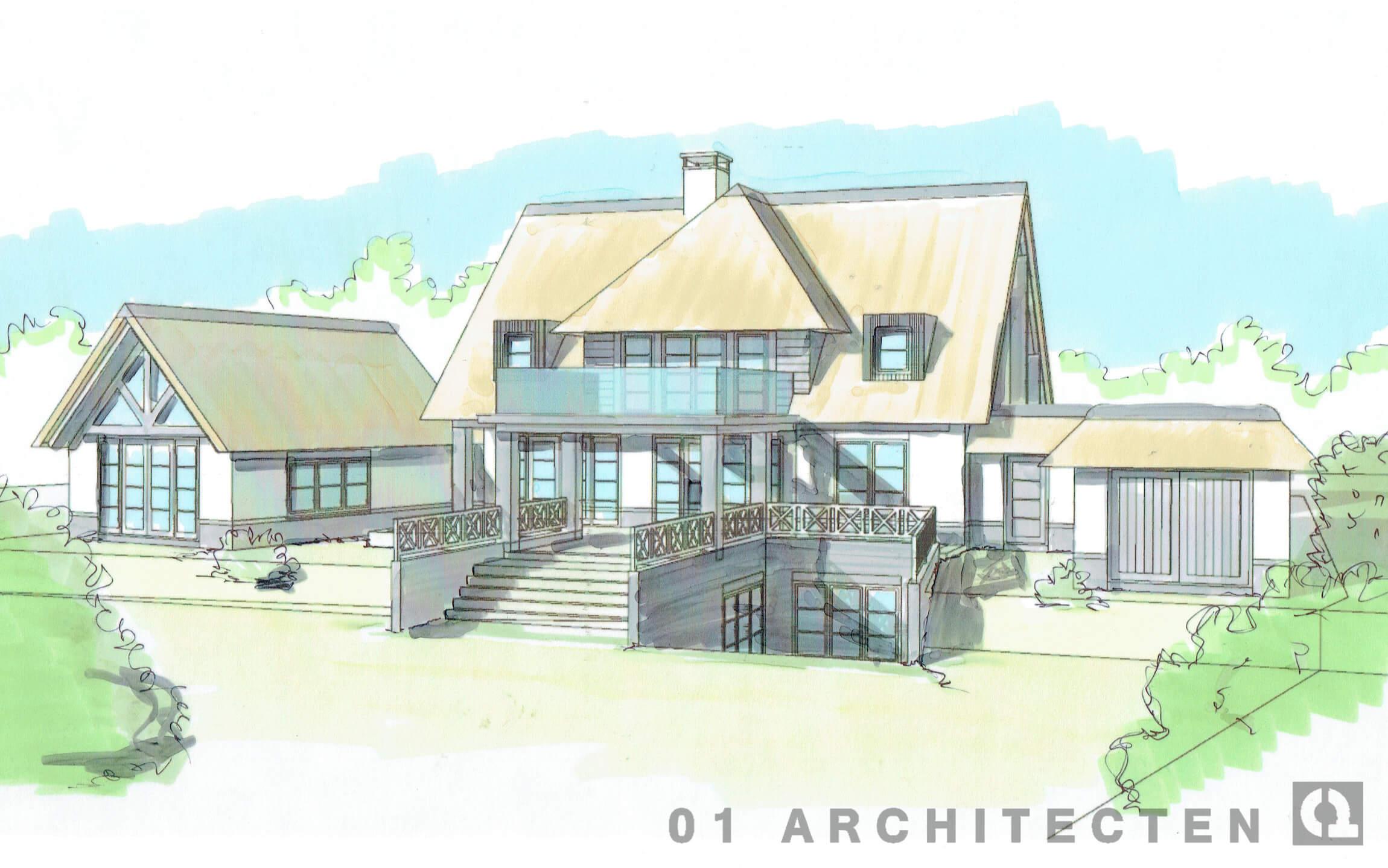 villa blaricum nieuwbouw architect