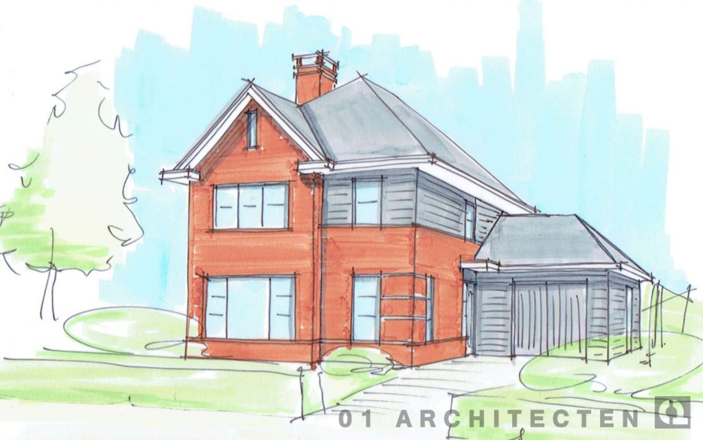 ontwerpproces nieuwbouw woning architectenbureau