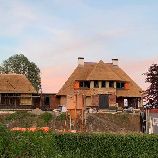 vervangende nieuwbouw villa herbouw