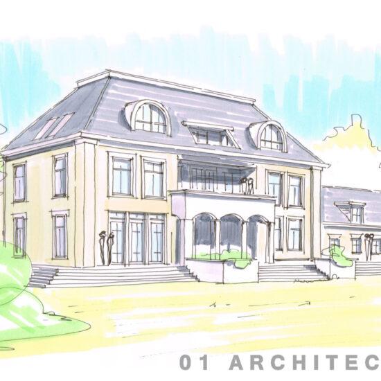 Nieuwbouw landhuis Architectenbureau