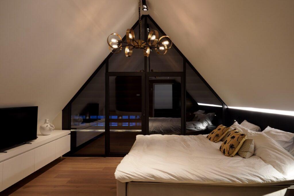 slaapkamer tot in de nok