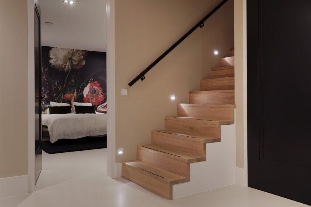 slaapkamer in de kelder