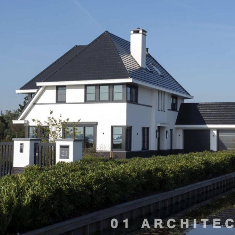 Nieuwbouw villa Roelofarendsveen architect